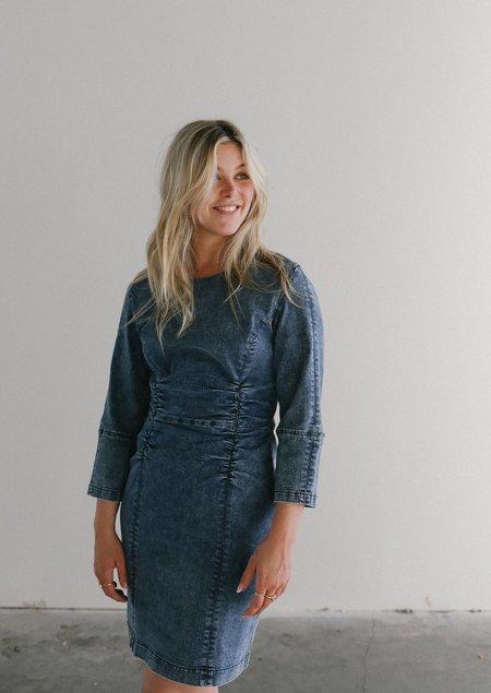 Just Female Glacier Dress - Blue Snow