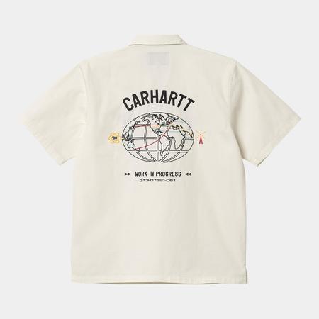 CARHARTT WIP S/S Cartograph Shirt - Wax