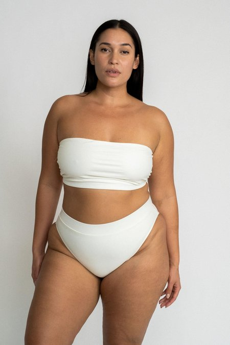 The Saltwater Collective Celine Bottom - Ivory