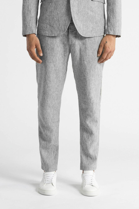 Wings + Horns Washed Linen BDU Pant | Ash Grey