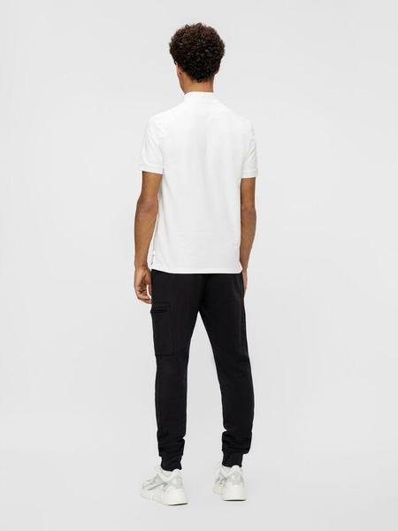 J.Lindeberg Victor Jersey Silk Pocket Jogger - Black