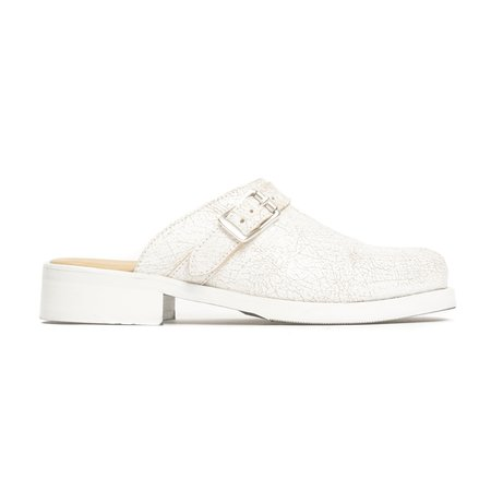 Our Legacy Camion Mule - White Coated Suede