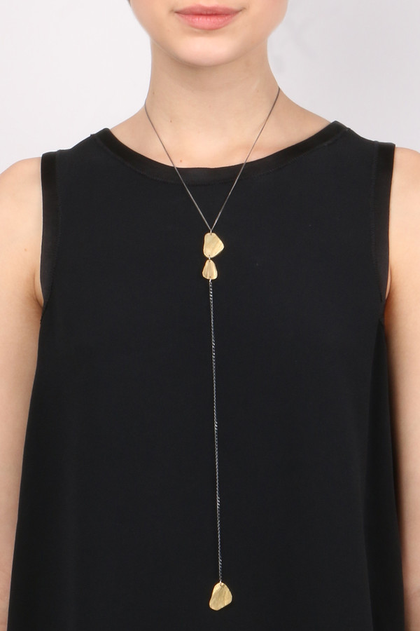 Chikahisa Studio Long Y Necklace