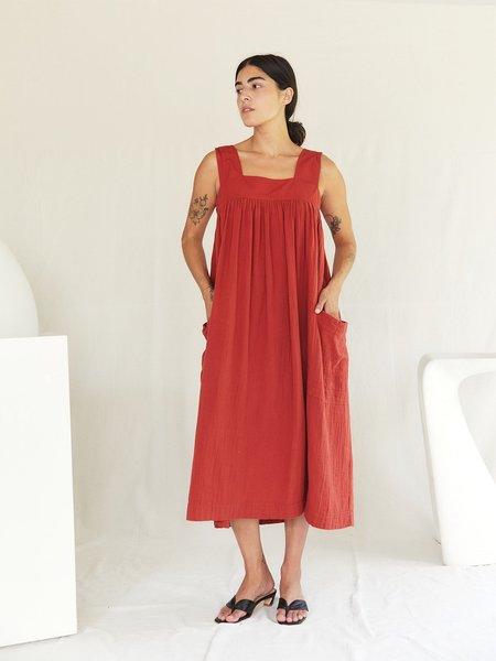 Sugar Candy Mountain The Pillar Dress - Red