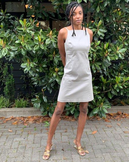 Vintage Armani Sheath Dress - white