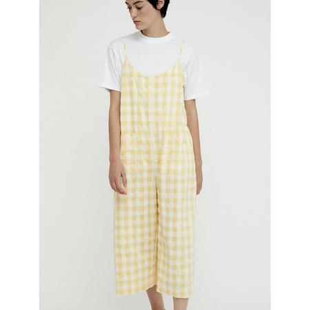 Rita Row Nina Jumpsuit - Yellow Check