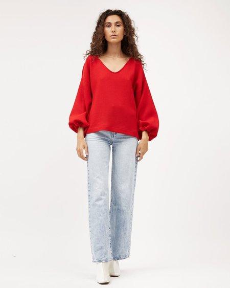 Dominique Healy Minka jumper - Red