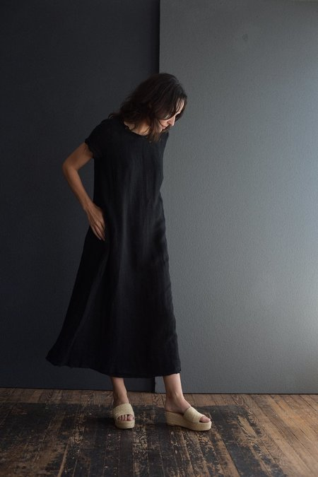 Kristensen du Nord Linen Dress - Black