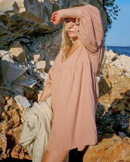 harly jae Paysanne Mini Dress - Rose Gold