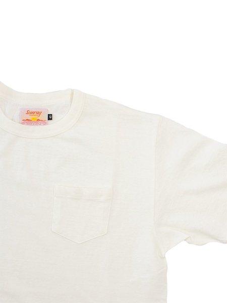 Sunray Sportswear Hanalei SS Pocket Tee - Off White