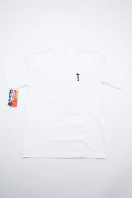 Totem Brand Co. Totem in the Maze Max-Weight T-Shirt with Totem Pole Logo - White