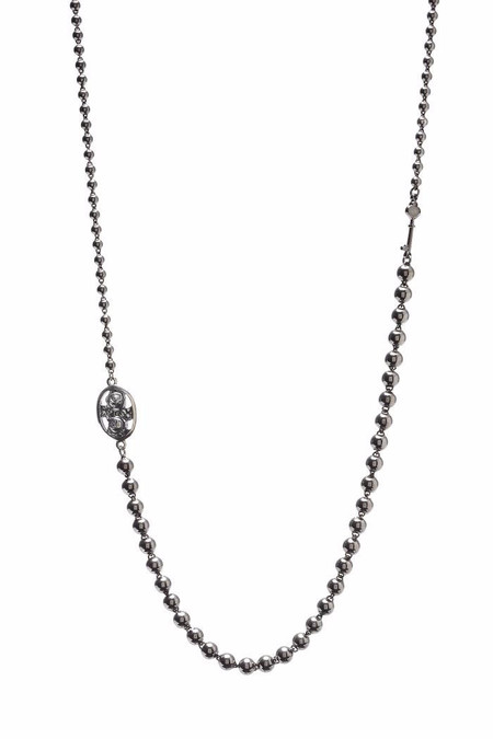 Oliver Kelly Chain W/ Rose and Key Necklace