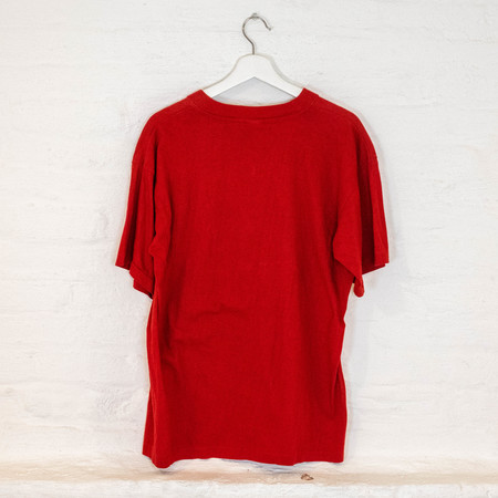 Vintage blur TEE - RED