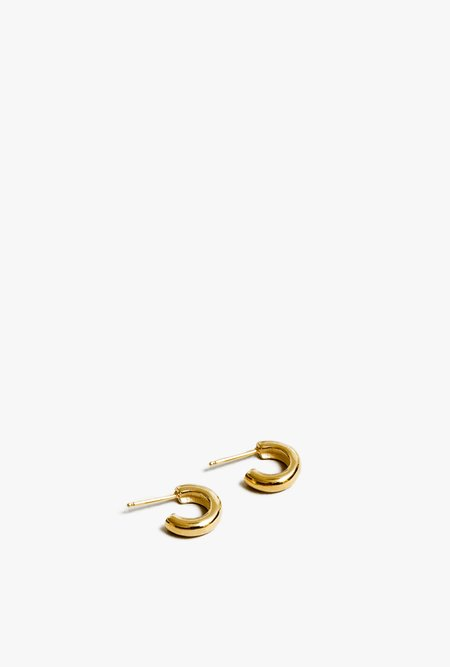 Wolf Circus Abbie Small Hoops - Gold