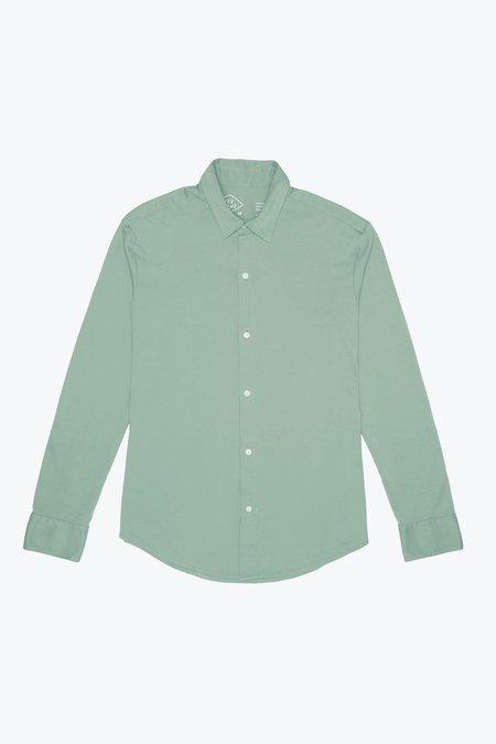 Alex Crane Blanket Shirt - Moss