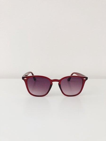 Reality Eyewear Chelsea Sunglasses - Deep Red
