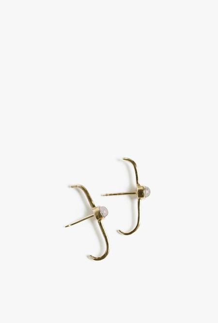 Merewif Dillon Opal Earrings