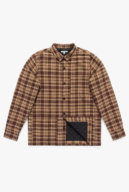 Banks Journal Duty L/S Shirt - Baked Clay