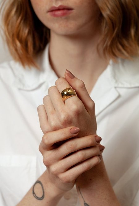 Wolf Circus Fera Ring - 14k gold plated bronze
