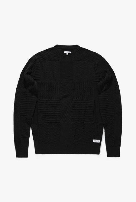 Banks Journal Glitch Knitwear - Dirty Black