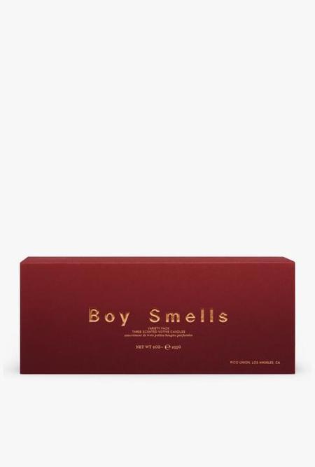 Boy Smells Holiday Votive Set CANDLES