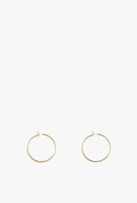 GJenmi  LA Single Small Hoop Earring - 14k Gold