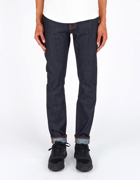 Nudie Brute Knute Dry Navy Comfort Jean