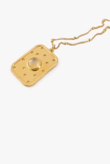 Merewif Moonrise Necklace - GOLD