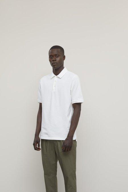 Closed  Organic Cotton Polo Shirt - white