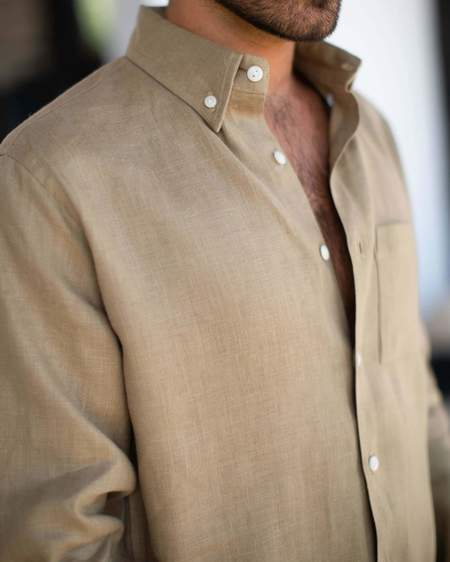 Alex Crane Playa Shirt - Chai