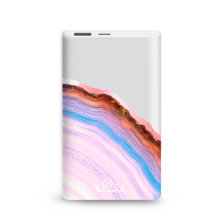 Ellie Los Angeles Power Bank Charger - Candy Agate
