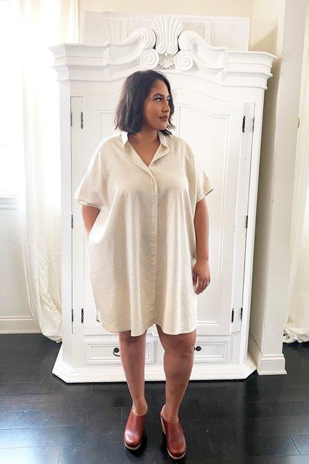 3rd Season Designs Shirt Linen Dress