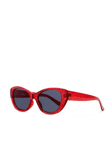 Reality Eyewear SLOANE RANGER SUNGLASSES - RED GLITTER