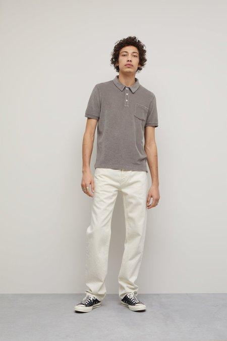 Closed Terry Cloth Polo Shirt - grey