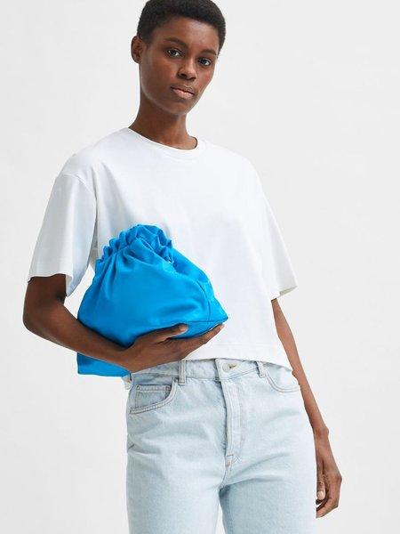 Selected Femme Frame T-Shirt - Bright White