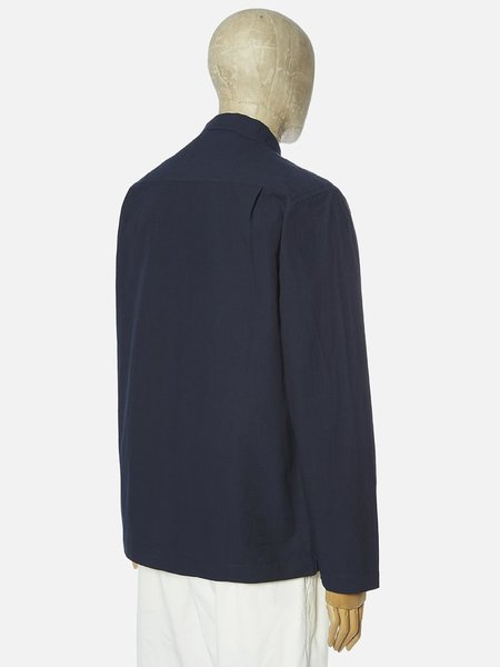 Universal Works Dockside Overshirt jacket - Navy