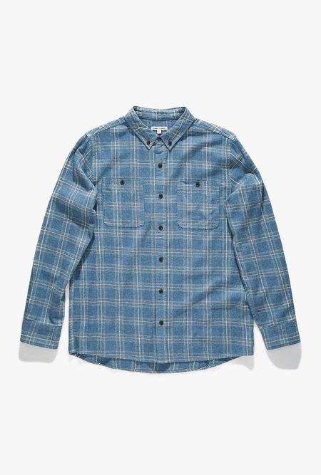 Banks Journal Vanish Long Sleeve Shirt - Insignia Blue