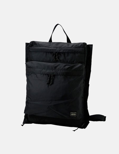 Porter Yoshida & Co Force Ruck Sack BAG - Black