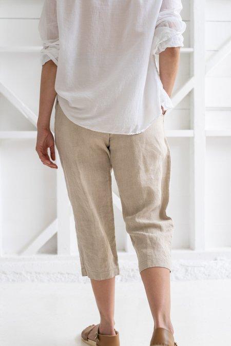 Vintage LINEN PANTS - natural