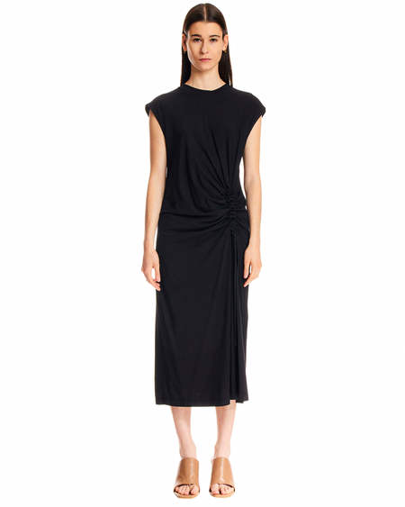 MSGM Long Dress - Black
