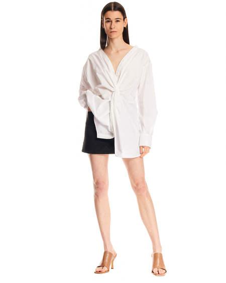MSGM Oversize Shirt - white