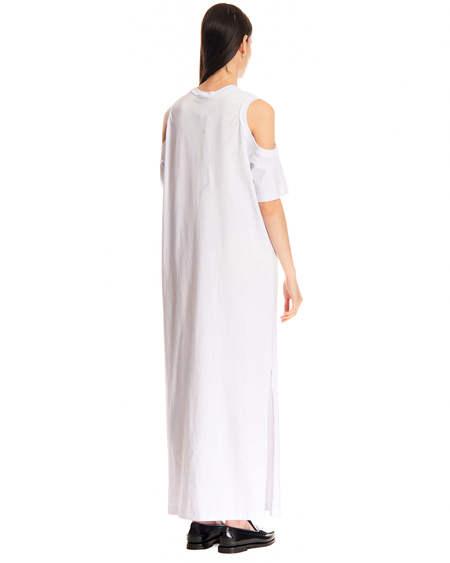 MSGM Long Dress - white