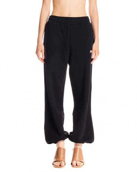 MSGM logo Tracksuit Pants - Black