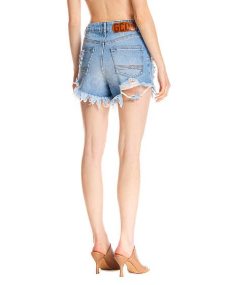 GCDS Short Denim Pants