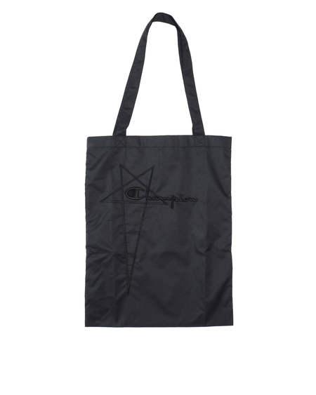 Rick Owens logo Bag - Black