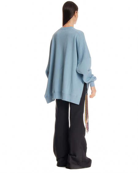 Ambush Laces Sweatshirt - Celeste