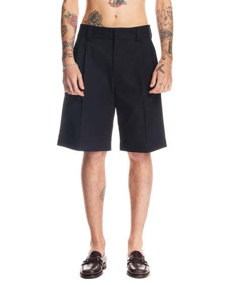 MSGM Wide Shorts - Black