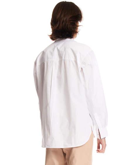 MSGM Logo Shirt - White