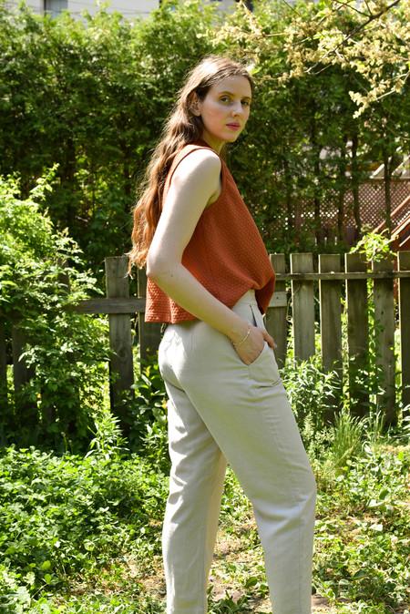 Eve Gravel Idylle Top - Rust