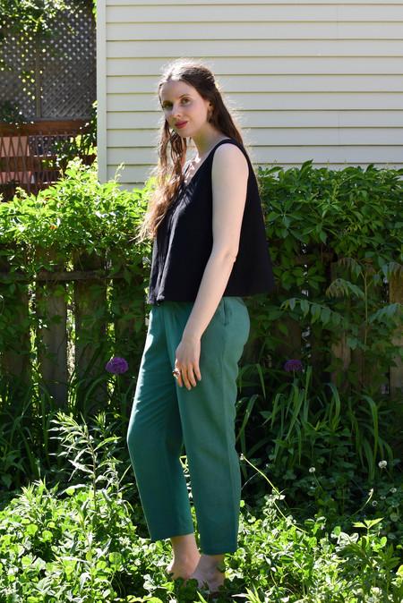 Eve Gravel Sparrow Pants - Ivy